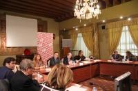 Imagen de archivo de sesión plenaria del Consejo Social