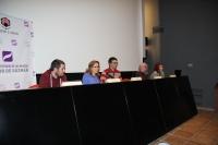 De izquierda a derecha, Marcos Caurel, María Rosal, Pablo García Casado, Consuelo Borreguero y Mª Dolores López Cordón