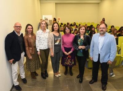 Autoridades asistentes a la presentación del programa Univergem
