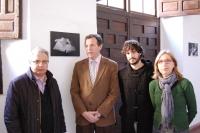 De izq a dcha Manuel Pérez, Eulalio Fernández, Jose Juan Luque y Carmen Blanco