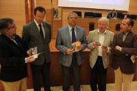 José Calvo, Eulalio Fernández, Juan Miguel Moreno, John Edwards y Ricardo Córdoba de la Llave