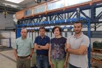 De izquierda a derecha: Emilio Camacho, Juan Antonio Rodríguez, Pilar Montesinos y Rafael González