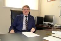 El vicerrector de Planificación Académica y Calidad, Lorenzo Salas