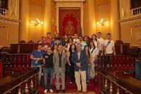 Estudiantes cordobeses de 3º de Historia visitan el Senado.