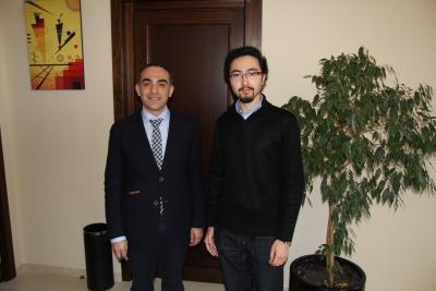 De izquierda a derecha, Alfonso Zamorano y Antonio Kenji Sepúlveda