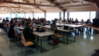 Asistentes a la reunión del Proyecto Diverfarming