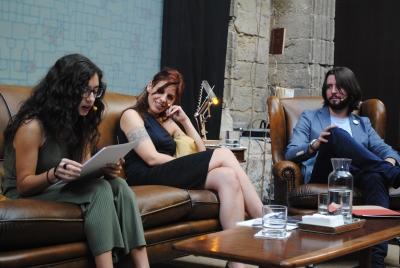 lectura de Rosa Berbel, ganadora de UCOpoética 2016, en Cosmopoética