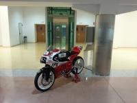 La moto con la que el equipo cordobés obtuvo el subcampeonato