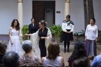 Un momento de la representación