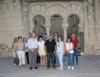Foto de familia de los participantes en la visita a Medina Azahara.