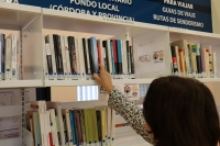 Imagen de la sección específica dentro de la Biblioteca General de la Universidad de Córdoba.