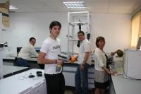 Parte del equipo de investigación en NIRS