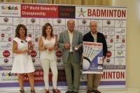 De izq a dcha: Manuela Gómez, Rosario Mérida, Miguel Reina y José Matas
