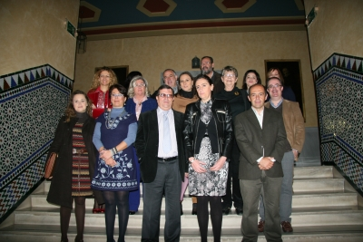 Participantes en el I Encuentro de Innovación e Investigación en Interculturalidad