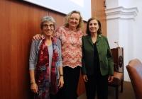 De izquierda a derecha, Anna Freixas, Carme Valls-LLobet y Mª Dolores Muñoz Dueñas
