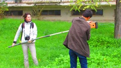 Revisión de las cajas nido del Campus de Rabanales