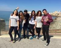 Miembros del Aula de Danza de la UCO que han participado en el Encuentro Interuniversitario de Danza.