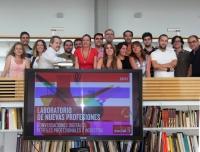 Alumnos y profesores del curso