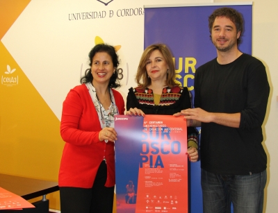 De izq. a dcha., May Silva, Rosario Mérida y Pablo Rabasco