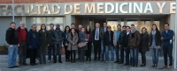 En la foto, los 15 estudiantes iberoamericanos, acompañados de los profesores del Curso (7 acreditados investigadores de la Universidad de Córdoba).