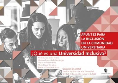 Portada de la publicación editada por la Unidad de Educación Inclusiva de la UCO