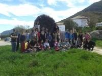 Participantes en la visita al Parque Natural de las Sierras Subbéticas