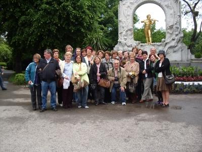 Alumnos de la Cátedra Intergeneracional en Viena