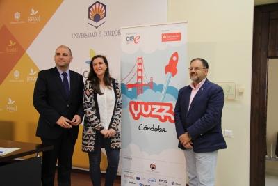 De izquierda a derecha, Enrique Quesada, Teresa Puerma y Librado Carrasco.