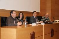 Un momento de la inauguración de la asamblea de Asetrad en la Facultad de Filosofía y Letras de la UCO.