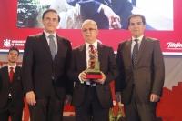 Desiderio Vaquerizo, junto a José Carlos Gómez Villamandos y José Antonio Nieto