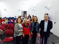 María Rosal, Antonella Cagnolati, Ana María Guijarro Carmona y Francisco Juan Martín Moreno