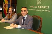 De izquierda a derecha, Esther Ruiz y Alfonso Zamorano