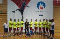 El equipo antes del inicio del partido