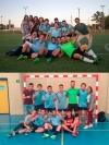 Equipos de fútbol y fútbol sala