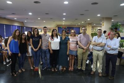 Imagen del acto de clausura de los Campus de Investigación de la UCO.