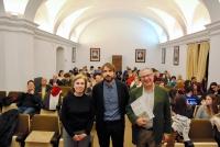 Mª Dolores Muñoz Dueñas, Antonio Urquízar y Manuel Pérez Lozano