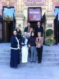 Visita institucional a la UCO de una delegación de profesores de la Universidad de Alejandría