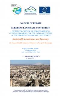 La Cátedra Intercultural presenta en la Convención Europea del Paisaje sus trabajos sobre sostenibilidad