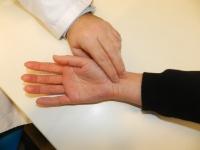 Toma del pulso arterial como método de detección de fibrilación auricular