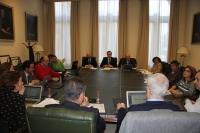 Reunión en el Rectorado de la  Univeresidad de Córdoba de la sectorial de I+D+i de la AUPA