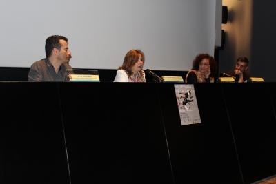 De izquierda a derecha, Alysson Maia, Rosario Mérida, Mar Montávez y Lorand Janós