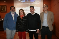 De izquierda a derecha, Gregorio Rodríguez, Rosario Mérida, Ignacio González y Juan Antonio Moriana.