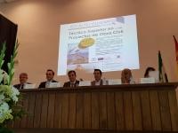 Autoridades asistentes a la presentación del nuevo ciclo superior
