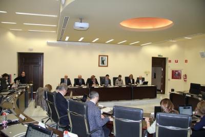 Sesión ordinaria de Consejo de Gobierno celebrada este jueves.