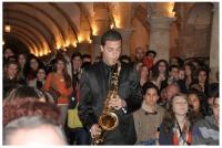 Un momento del concierto en Caballerizas