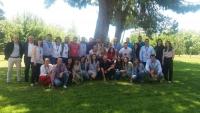 Foto de familia de los participantes en el Campus Universitario Carrefour
