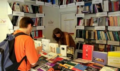 Stand de la UNE en la Feria del Libro de Madrid