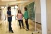 Responsables del equipo de investigación conversan en el Rectorado de la UCO