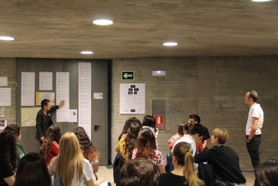 López Cuenca y Elo Vega continúan examinando los monumentos de Córdoba en Plaza ArtLab