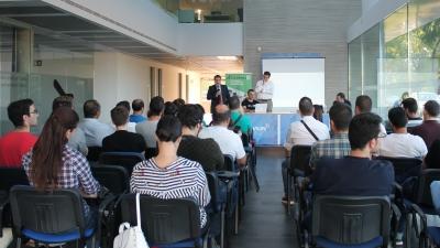 Jaume Castanyer durante la presentación